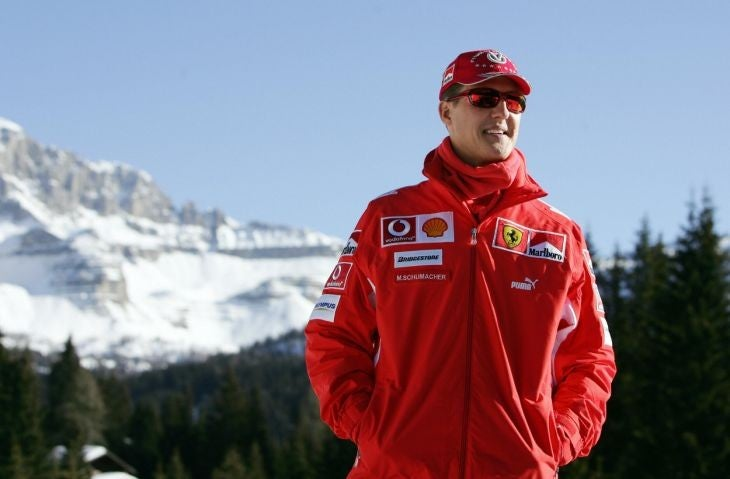 Michael Schumacher health improves: Formula 1 star 'shows signs that give us encouragement', says his manager