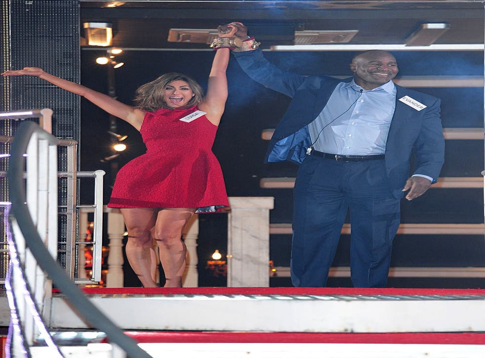 Evander Holyfield joins the 'Celebrity Big Brother' circus with housemate Luisa Zissman