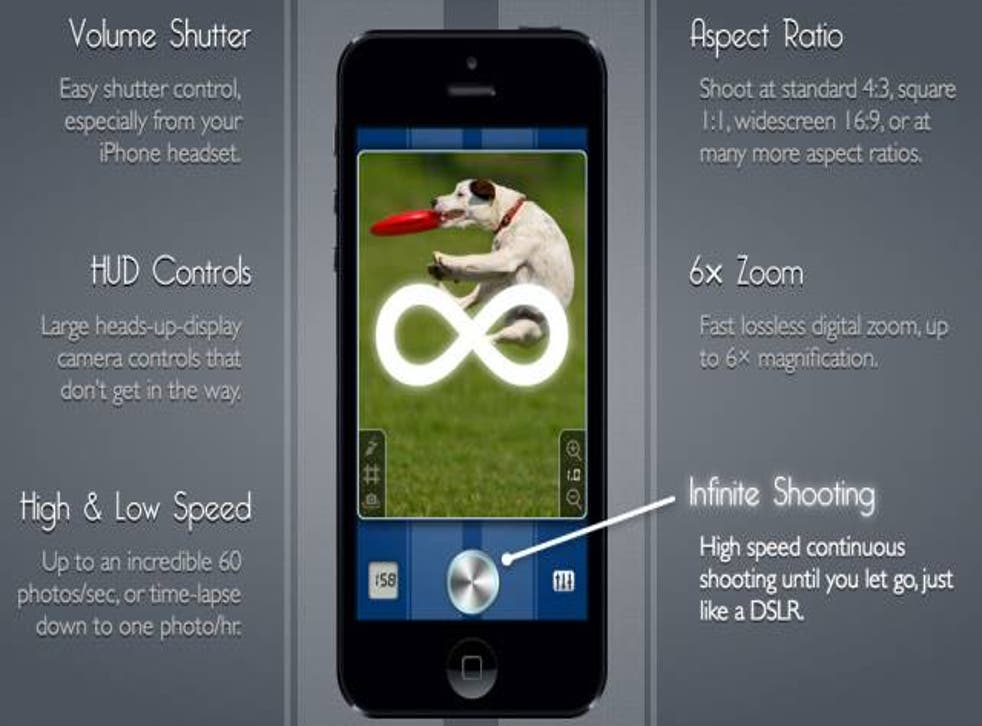 SnappyCam offered features unavailable to Apple's own iOS camera app.