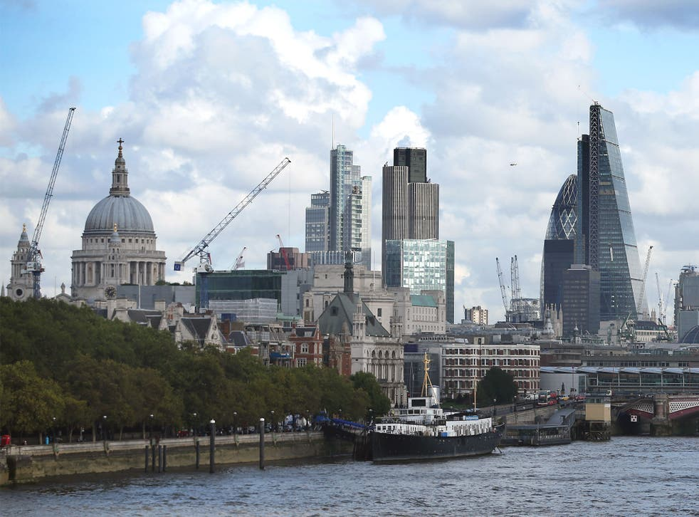 <p>Cranes in the City: construction companies are well represented in the list of those that have suffered fatalities over the last four years</p>