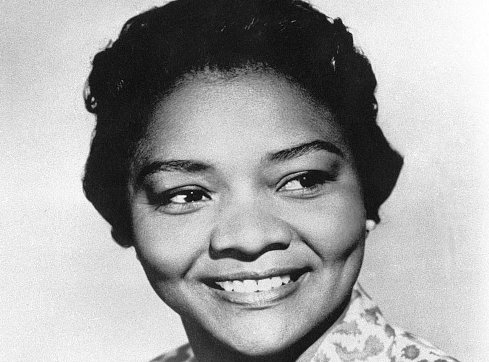 Moore in 1961: a few years later she would find roles in the era of blaxploitation