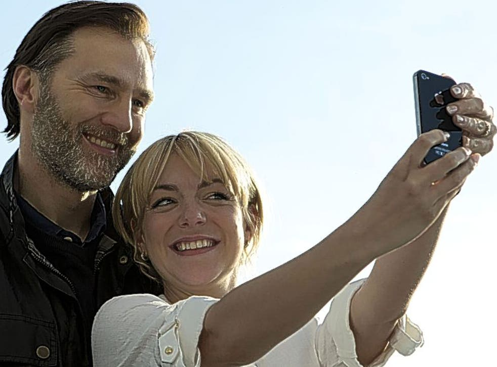 Life through a lens: David Morrissey and Sheridan Smith in 'The 7.39'