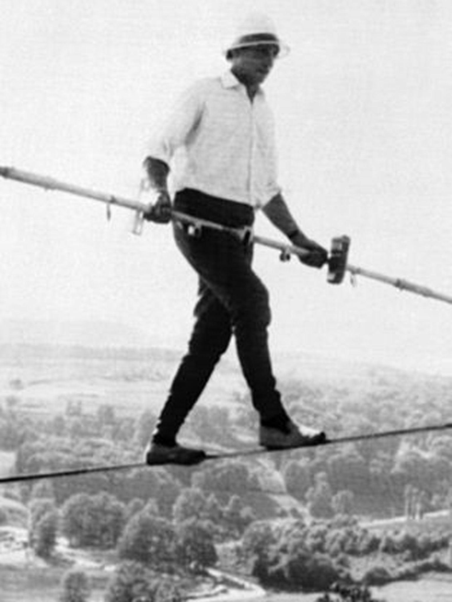 Henri Rechatin: Tightrope walker who traversed Niagara Falls