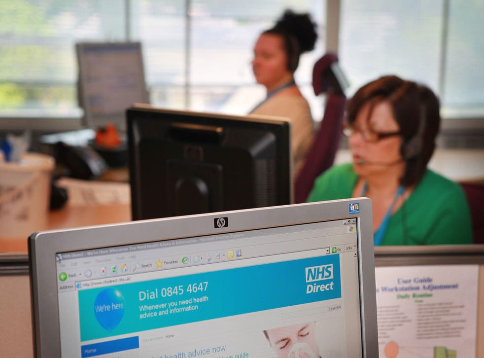 The NHS service in 2009, before it was moved to the 111 number. Hundreds of members of staff at a failed provider to the troubled NHS 111 helpline have been given official notice