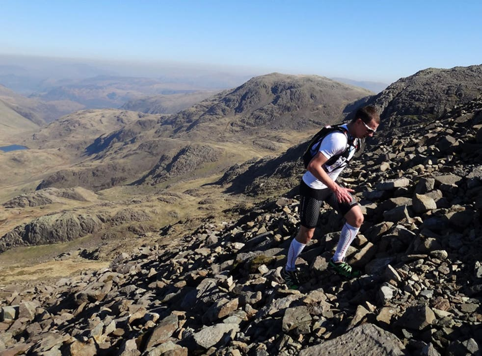 A Skyrunner takes on the Lake District high terrain events