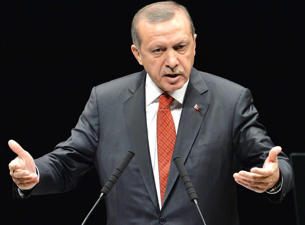 Turkish Prime Minister Tayyip Erdogan
