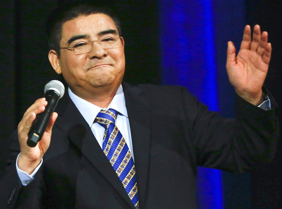 Chinese philanthropist Chen Guangbiao