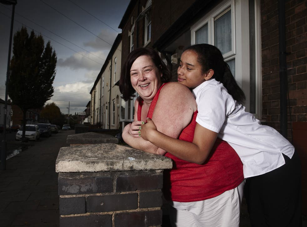 Dee and Caitlin; Dee Roberts told the Birmingham Mail 'they said they wanted to film for a TV show about how great community spirit is in the street'