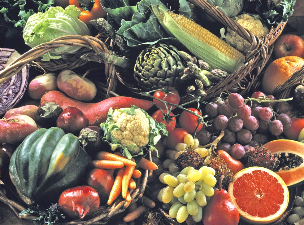 Imports account for about 40 per cent of Britain's total food consumption
