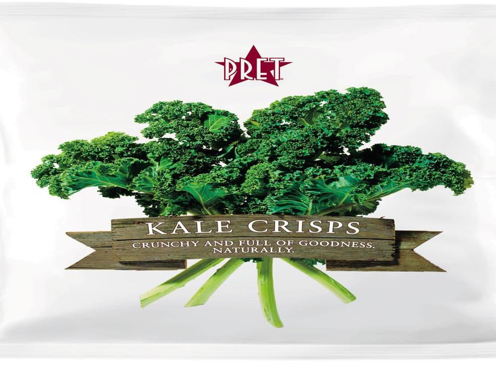 Superfood snack: Pret A Manger's Kale Crisps