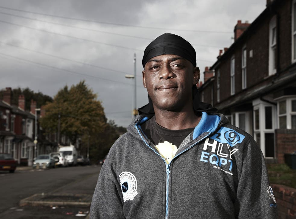 Channel 4's series claims to shed light on life on benefits for residents of the street, including Smoggy pictured here