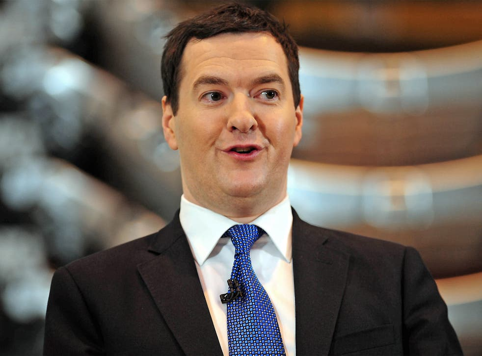 Chancellor George Osborne. According to opinion polls, only 16 per cent of low paid voters think that the Conservative Party is on their side