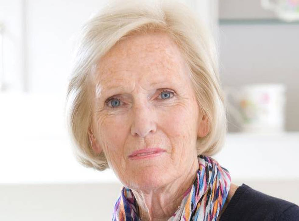 Mary Berry was a guest on Piers Morgan's Life Stories, set to air on Friday