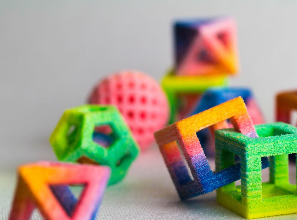 The Chefjet produces multicoloured confectionery with 3D technology