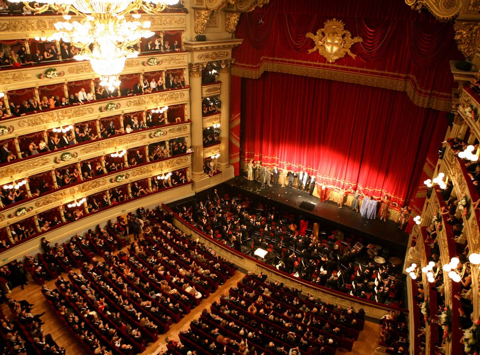 The Teatro alla Scala in Milan is one of the few opera houses that can pay its bills