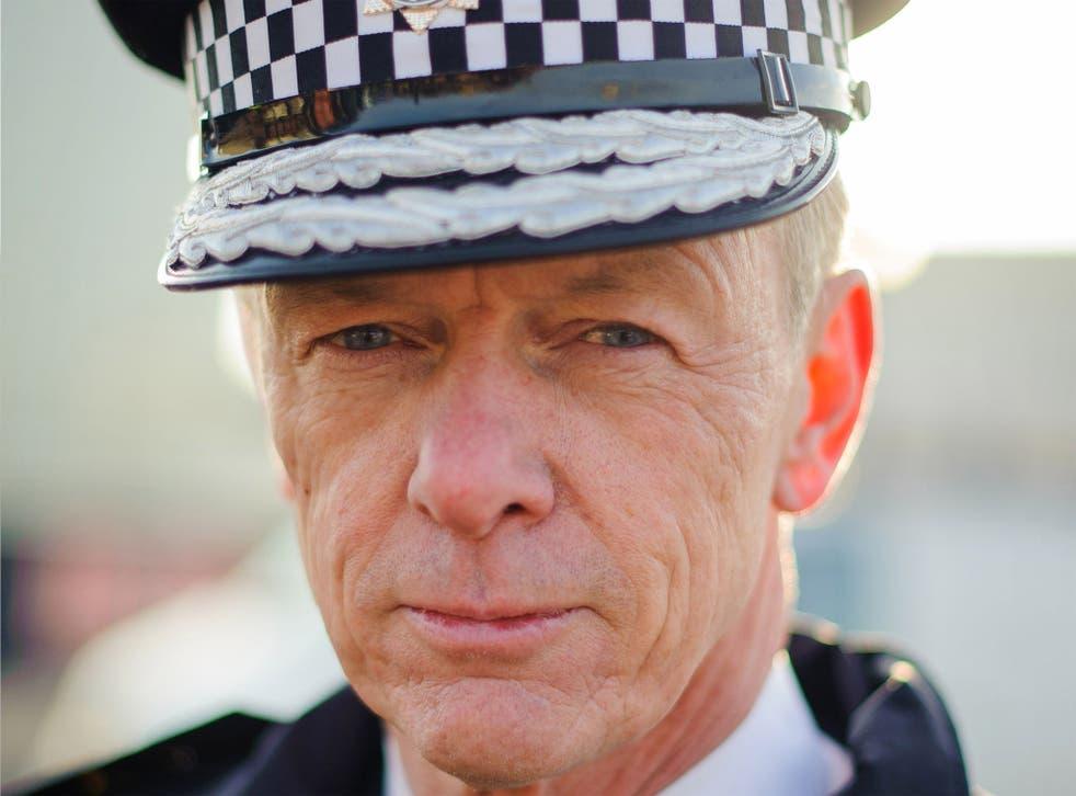 Metropolitan Police Commissoner, Sir Bernard Hogan-Howe