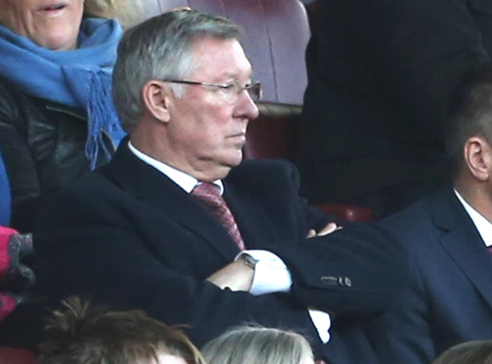 Sir Alex Ferguson's presence at most United games has cast a shadow over David Moyes