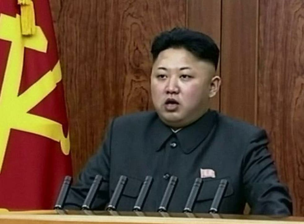 The North Korean leader Kim Jong-un hinted at improved relations between the two Koreas in his New Year's Day message - before also warning of possible nuclear war