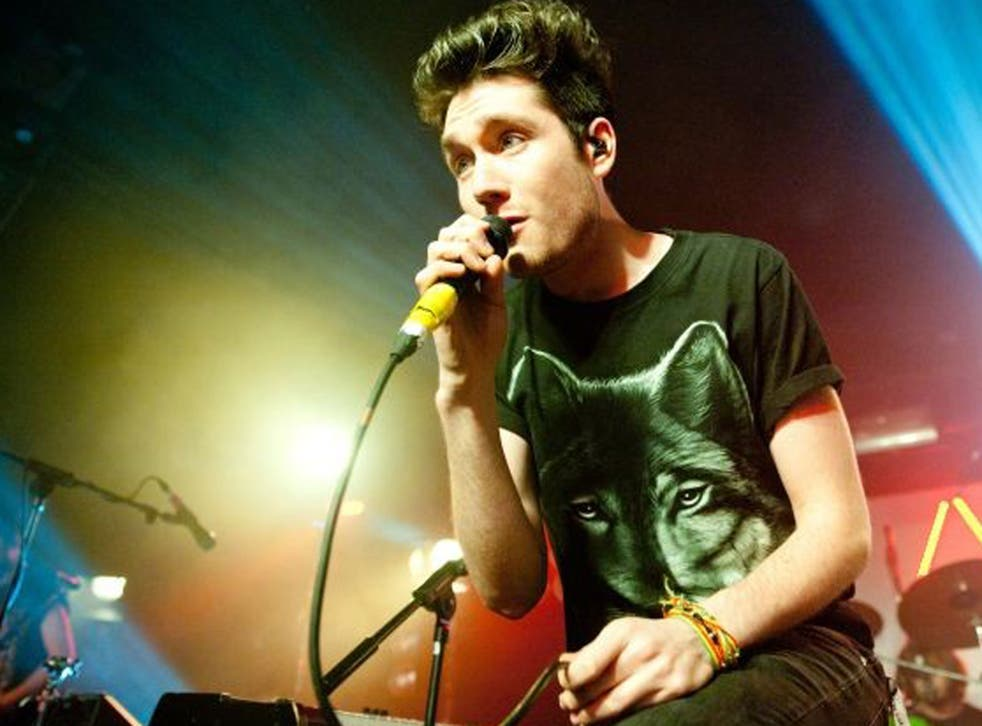 Dan Smith of Bastille, who are nominated for an impressive four Brit Awards