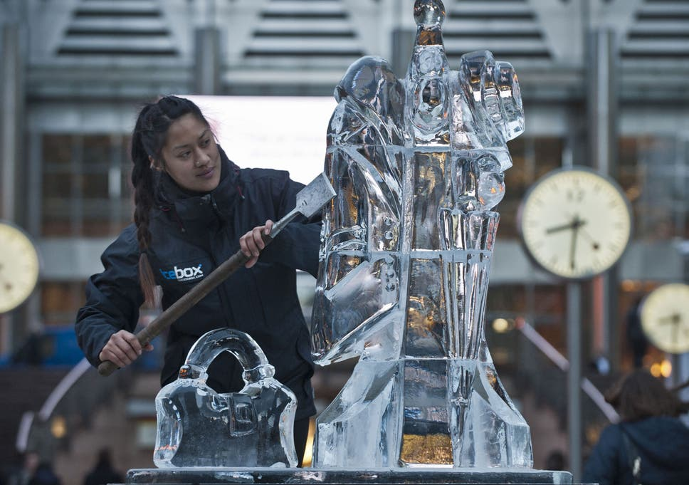 The Art Of Ice Sculpting The Independent