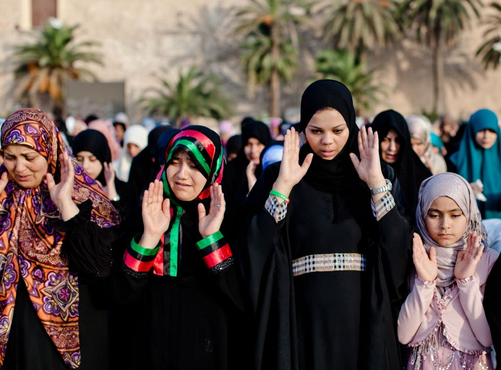 Nearly half the people surveyed in Lebanon thought no head covering should be worn by women