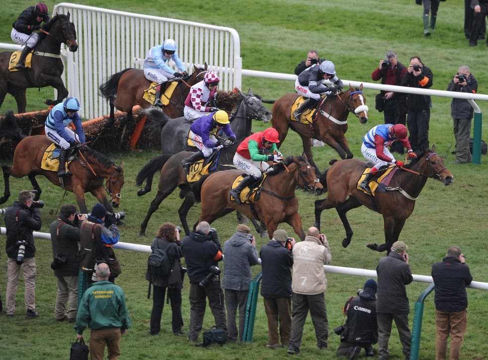 Racing during the 2012 Cheltenham festival when, a court heard, businessman Curtis Woodman hired the Embassy Club in Cheltenham to entertain racegoers