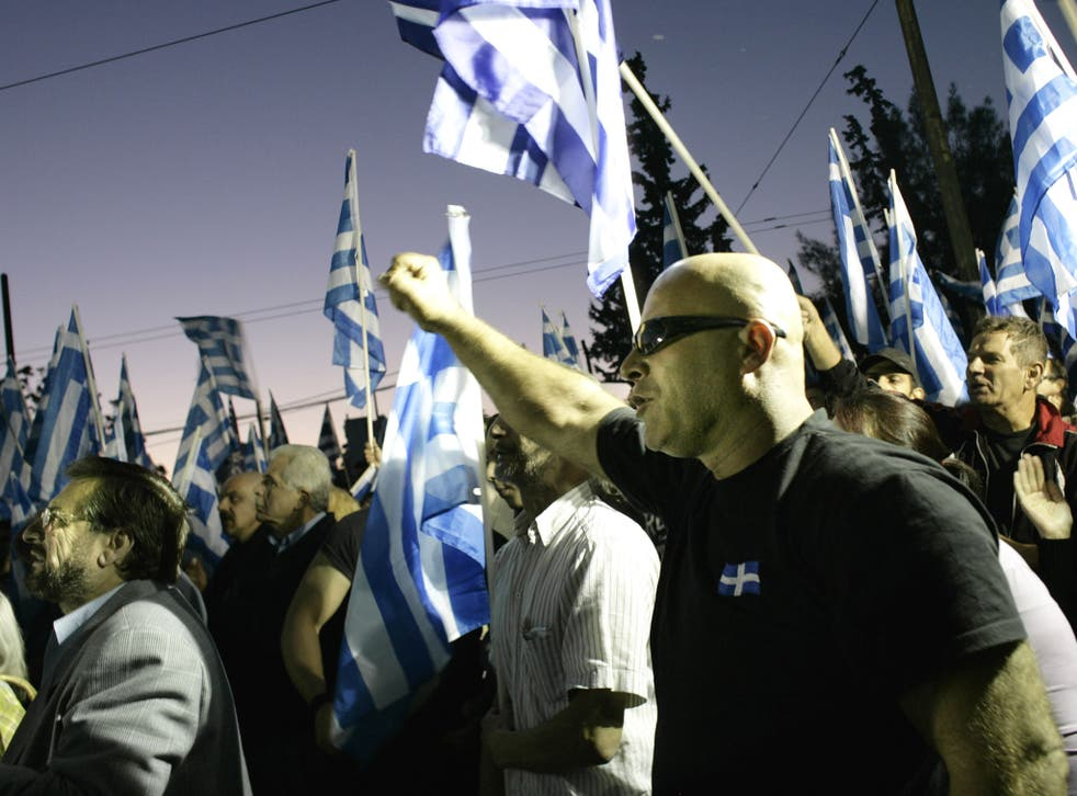 Far-right party Golden Dawn is expected to perform well in municipal and European Parliament elections