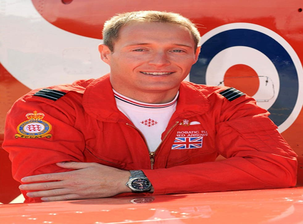 Flight Lieutenant Sean Cunningham was fatally injured after being ejected from his Hawk T1 aircraft