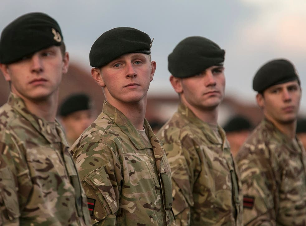 Defence Secretary Philip Hammond said: 'We are restructuring the army to ensure regular and reserve soldiers are fully integrated into one force.'