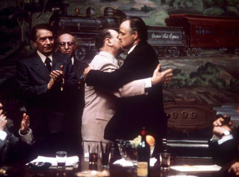 Table talk: A mafia pact, as Marlon Brando ends a vendetta in The Godfather