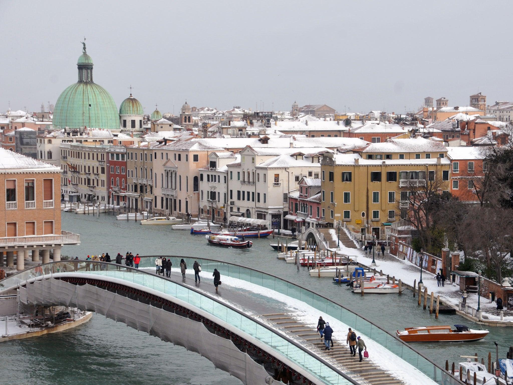 calatrava bridge venice photos - photo#2