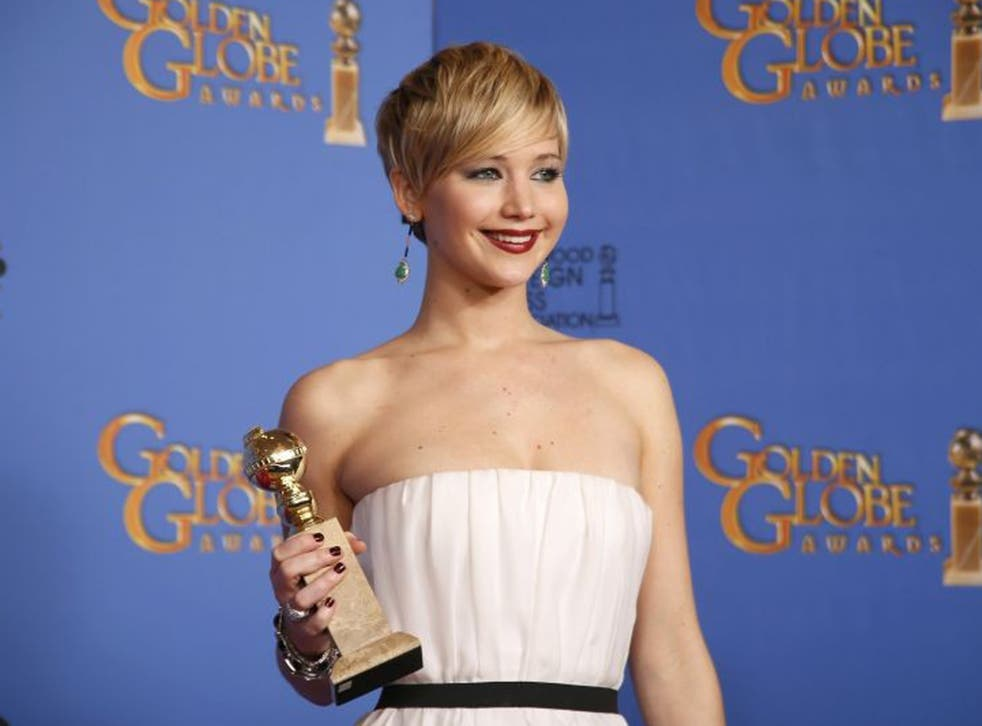 Jennifer Lawrence was also a winner last year for Silver Linings Playbook