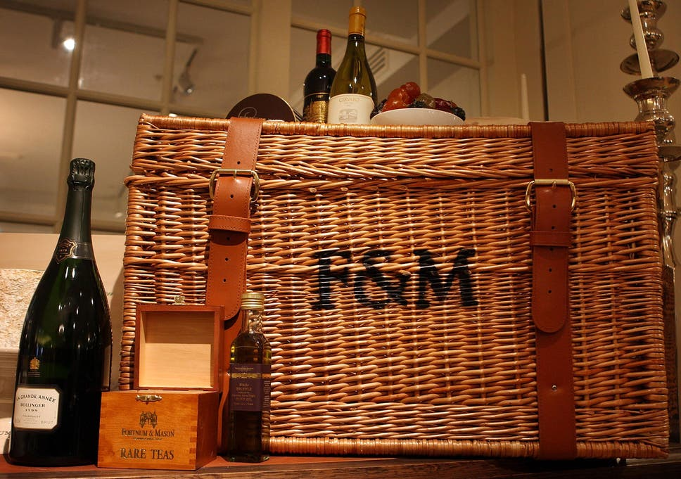 Fortnum Mason Reports Bumper Sales Of Luxury Hampers In The Run Up