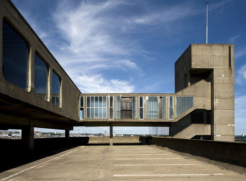 Gateshead Car Park, Owen Luder, Gateshead