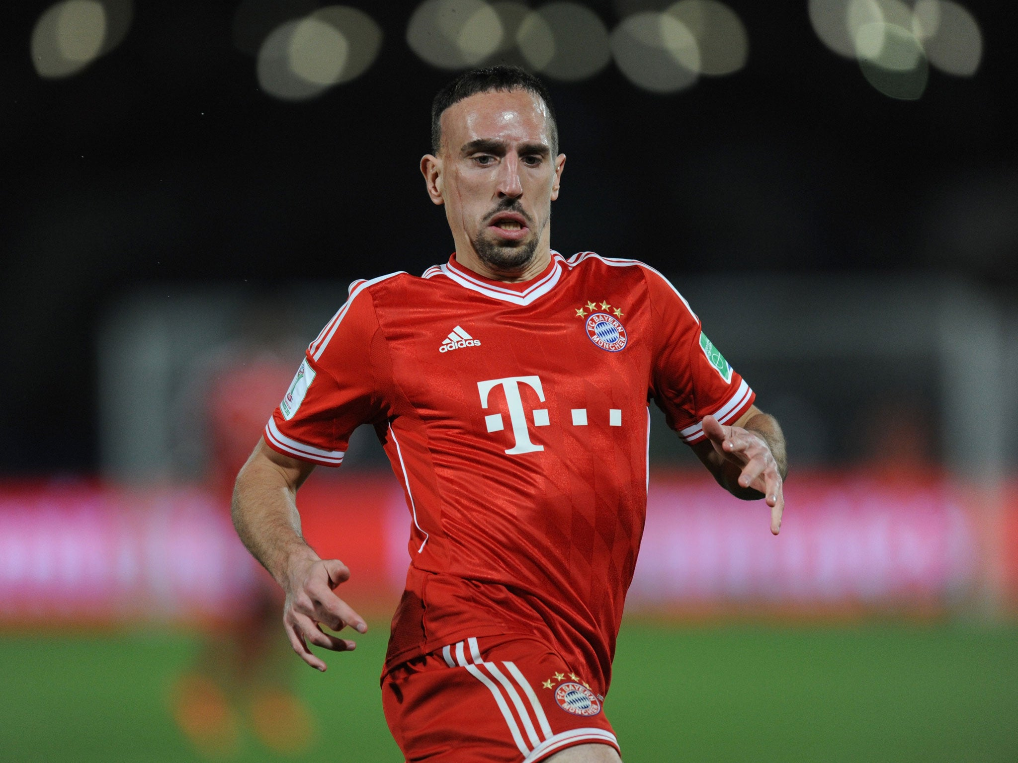 Franck Ribery will miss Champions League tie against Arsenal
