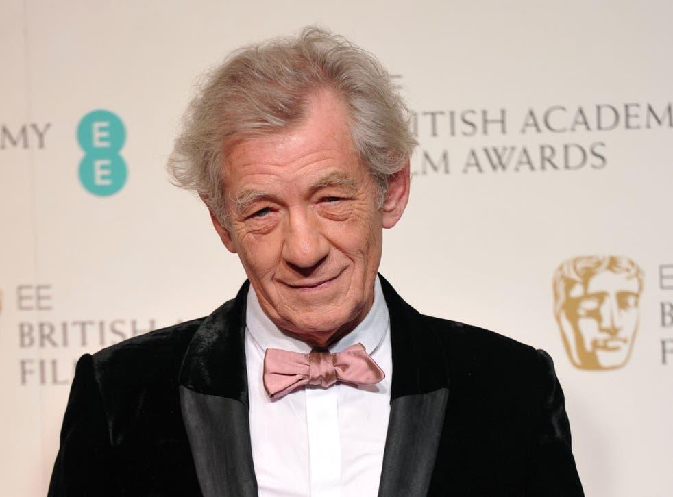 Sir Ian McKellen joined Nobel-winning chemist Sir Harry Kroto  in formulating  the demand