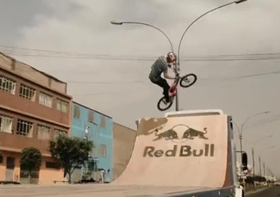 Watch five-time X-Games BMX gold medallist Daniel Dhers perform