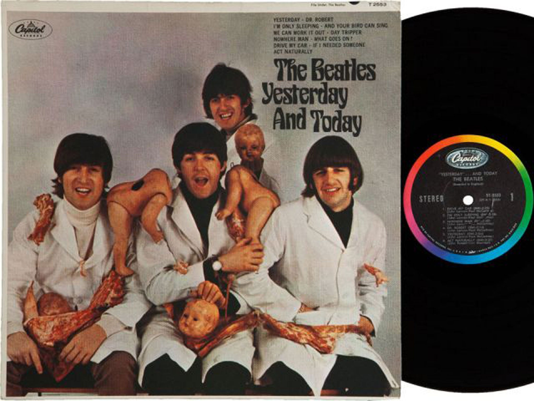 The Beatles Us Albums How The Classics Were Butchered