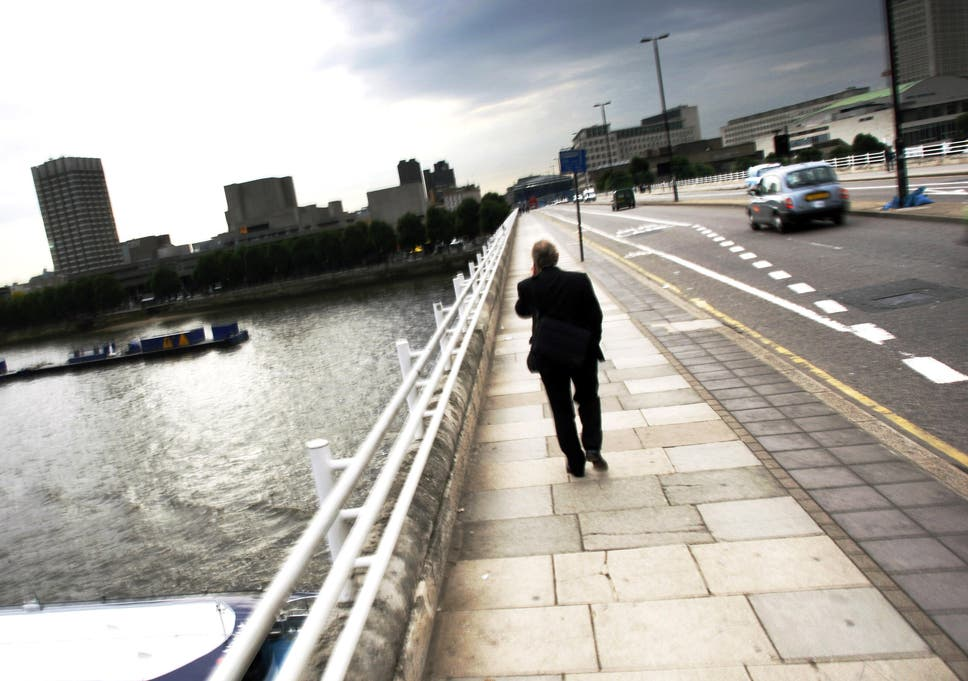 I stopped a man jumping off Waterloo Bridge  Whatever