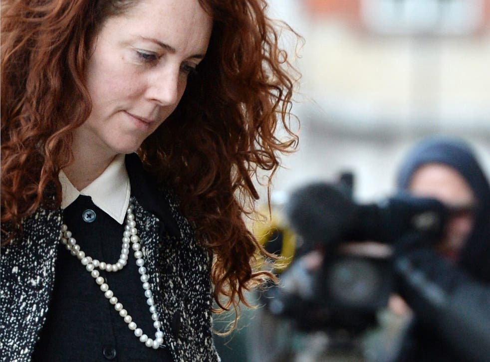 Former Chief Executive of News International, Rebekah Brooks, arrives at the Old Bailey Central Criminal Court
