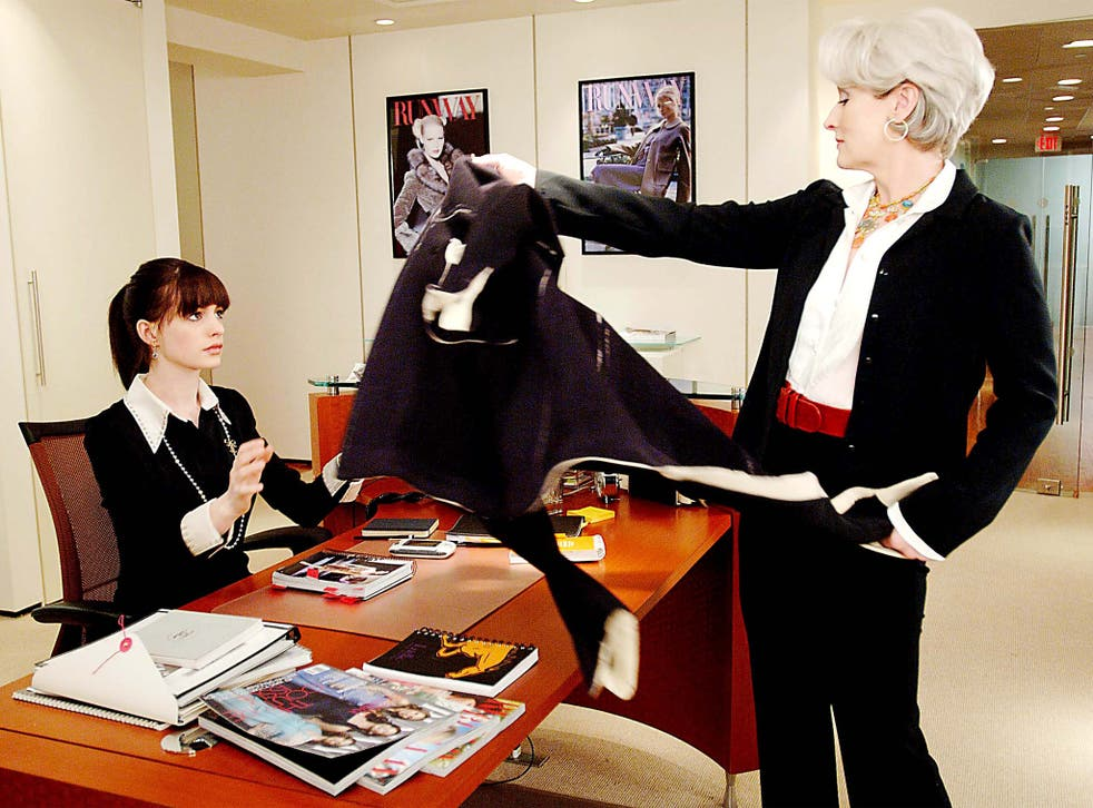 Anne Hathaway and Meryl Streep in 'The Devil Wears Prada'