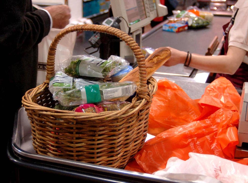 The biggest contribution to the fall in the inflation rate came from a decline in the price of groceries