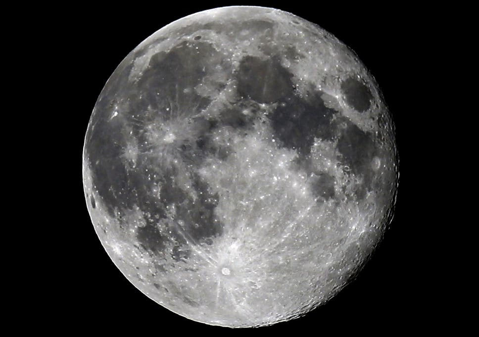 how old is the moon true age is finally revealed the independent