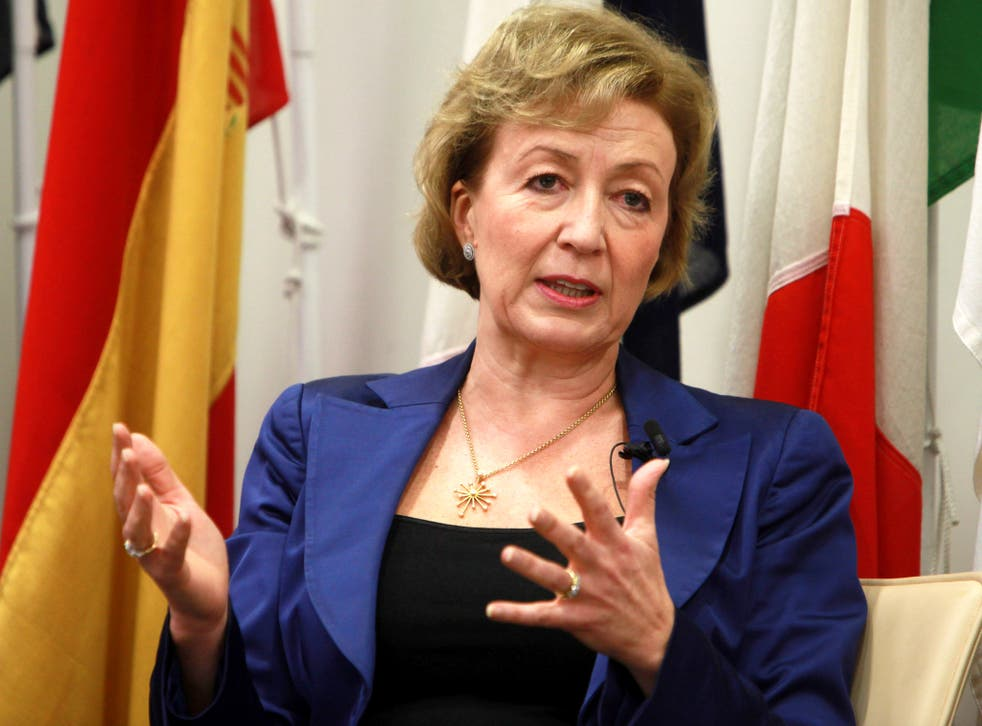 Andrea Leadsom is the head of Fresh Start Group