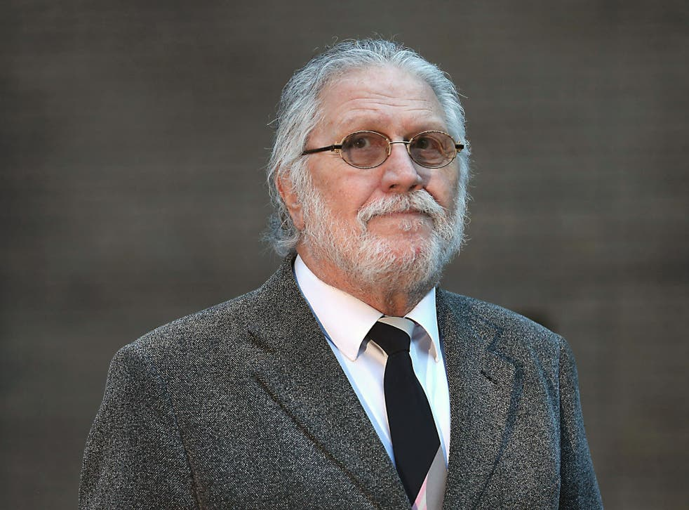 Radio presenter Dave Lee Travis arrives at Southwark Crown Court on 16 January.