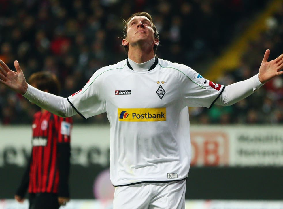 Borussia Monchengladbach striker Luuk de Jong