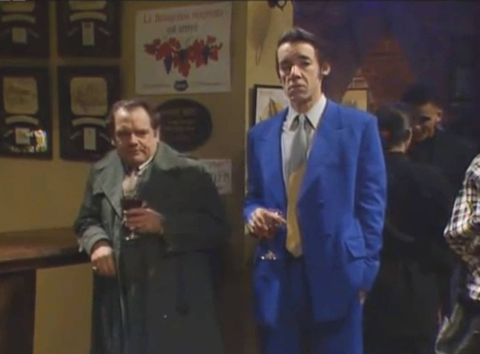 David Jason and Roger Lloyd-Pack in Only Fools and Horses