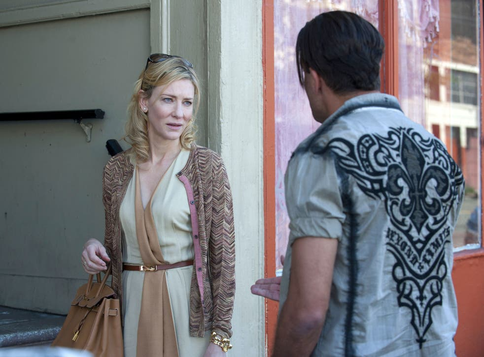 Cate Blanchett has been nominated for Best Actress for her role in Blue Jasmine