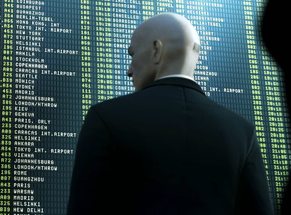 IO enclosed a new Hitman picture with the letter