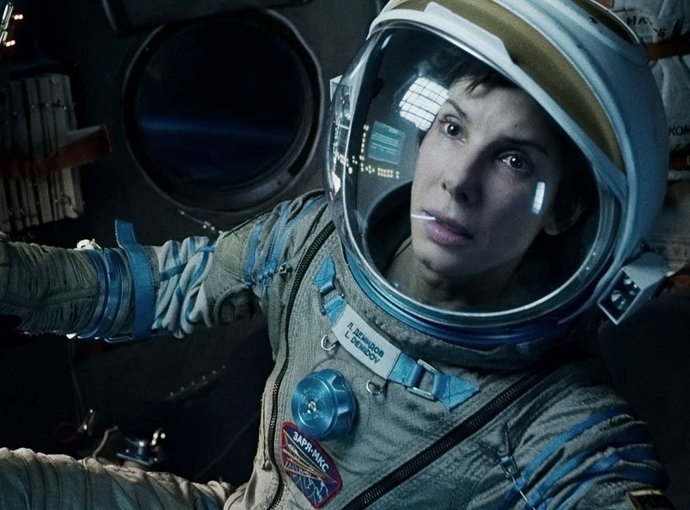 Sandra Bullock won Best Actress in an Action Movie for her role as a medical engineer trapped in space in Gravity